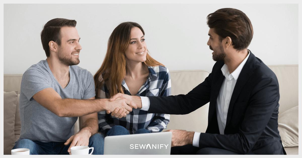 Cara Sewakan Rumah - Handshake