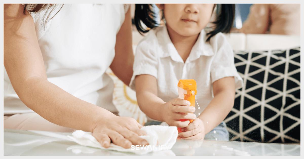 Cara Sewakan Rumah - Baby Wash